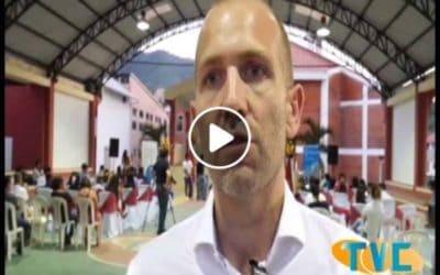 Guillén Calvo a participé à la cérémonie de clôture du programme d'accompagnement des jeunes de Los Encuentros