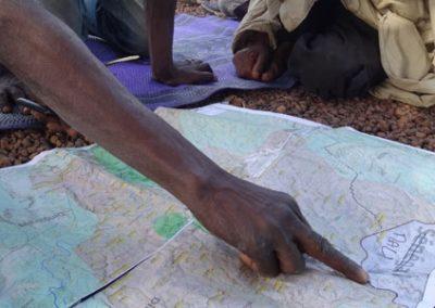 Cartographie des territoires villageois pour WCF – Guinée