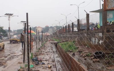 Mapping of Conakry main roads for Enabel – Guinea