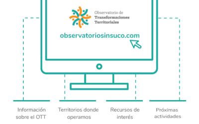 Nouveau site internet pour les Observatoires des Transformations Territoriales