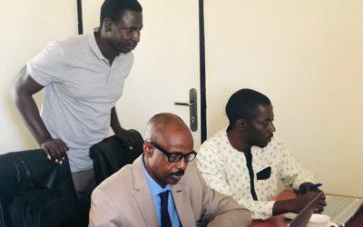 Formación de la Cámara de Minas de Guinea en SIG