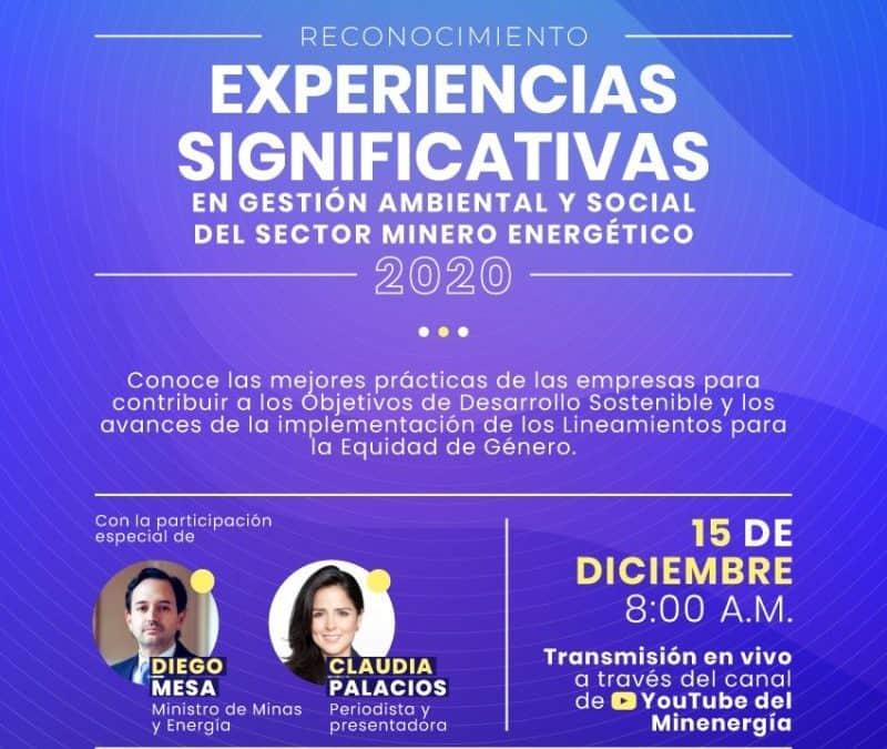 Experiencias Significativas 2020 – Egalité femmes-hommes dans le secteur minier et énergétique en Colombie