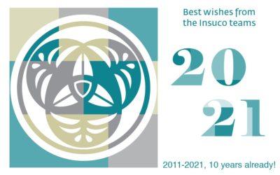 ¡Insuco les expresa sus mejores deseos para el año 2021 y celebra su 10º aniversario!