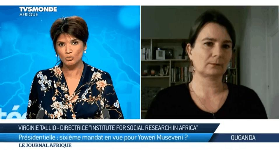 Intervention de Virginie, directrice de l'IFSRA, au Journal Afrique de TV5 Monde