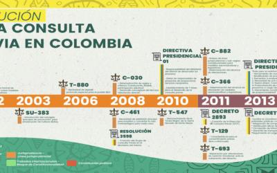 Lignes directrices pour une mise en œuvre efficace de la Consultation Préalable des communautés indigènes – Colombie