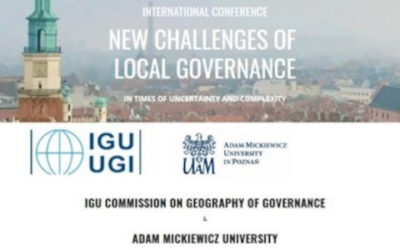 New challenges of local governance in times of uncertainty and complexity