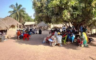 Consultations in the railway area of the Simandou Mining Project for WCS – Guinea