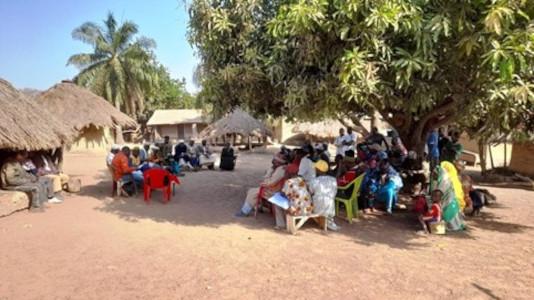 Consultations dans la zone rail du projet minier Simandou pour WCS – Guinée