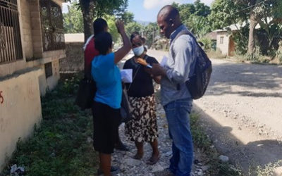 Insuco conducted inventories for the development of a Resettlement Action Plan (RAP) in Plaisance alongside National Road 1 in Haiti